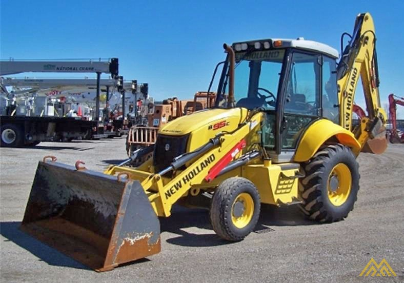 New Holland B95C Backhoe Loader 1