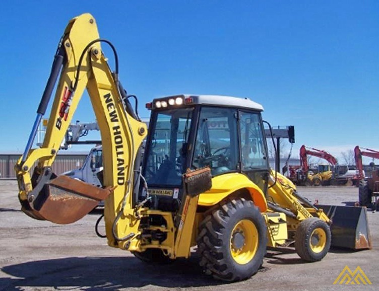 New Holland B95C Backhoe Loader 2