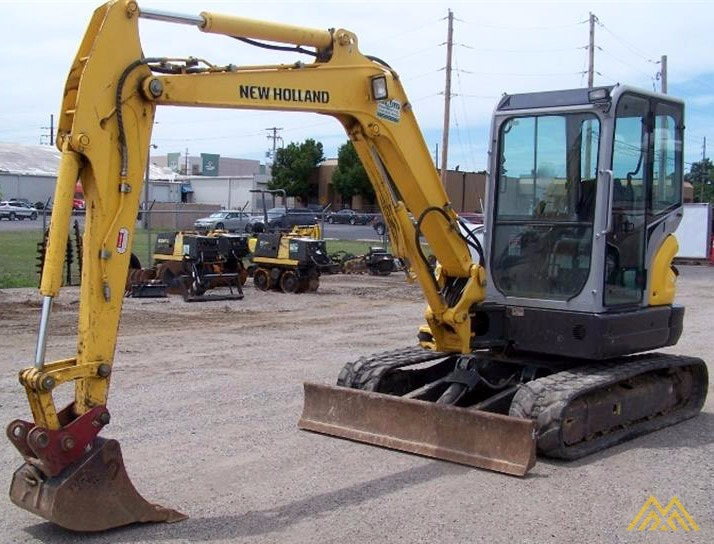New Holland E55BX Compact Excavator 0