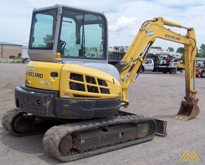 New Holland E55BX Compact Excavator 1
