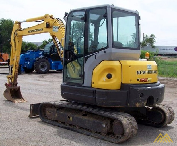 New Holland E55BX Compact Excavator 2