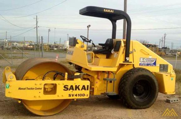 Sakai SV410D-2 Smooth Drum Roller 0