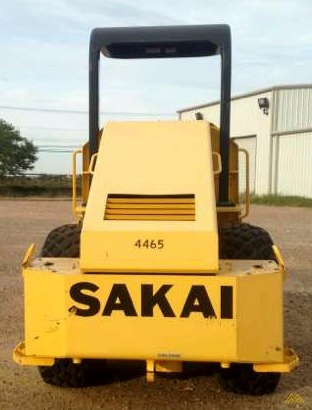 Sakai SV410D-2 Smooth Drum Roller 1
