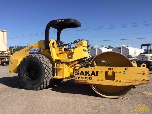 Sakai SV505-I Vibratory Soil Compactor for Sale 0