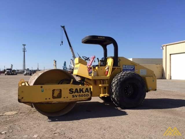 Sakai SV505-I Vibratory Soil Compactor for Sale 1