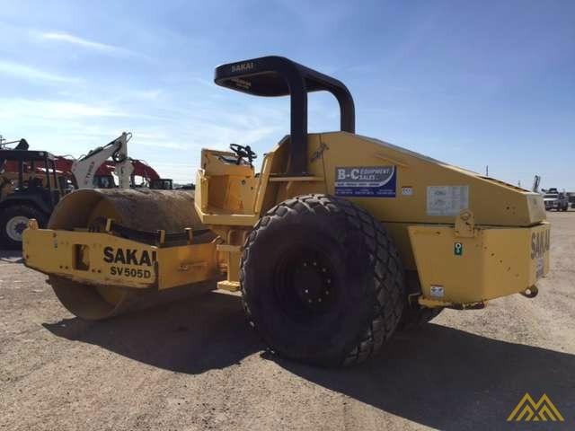 Sakai SV505-I Vibratory Soil Compactor for Sale 2
