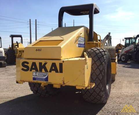 Sakai SV505-I Vibratory Soil Compactor for Sale 3