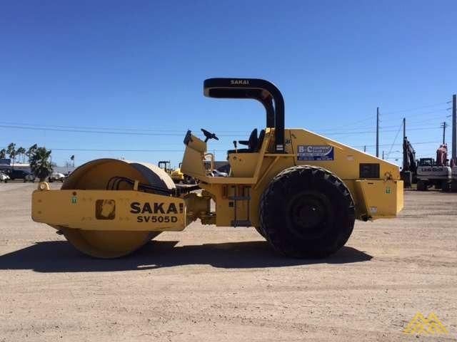 Sakai SV505D-1 Roller in Texas 1