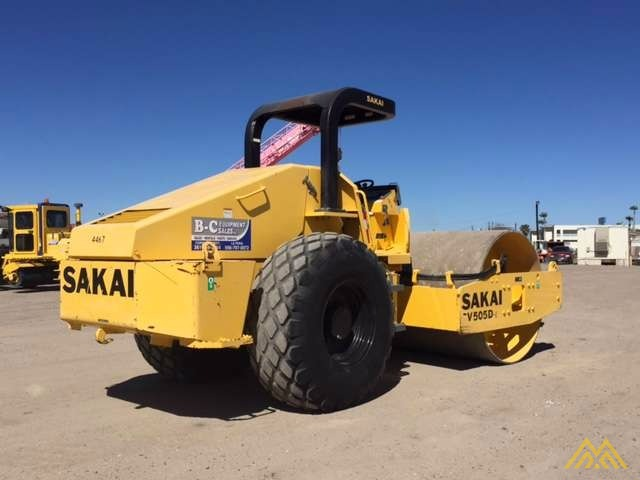 Sakai SV505D-1 Roller in Texas 2