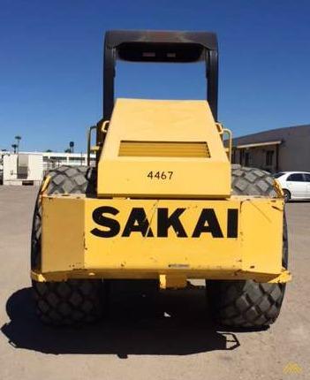 Sakai SV505D-1 Roller in Texas 3