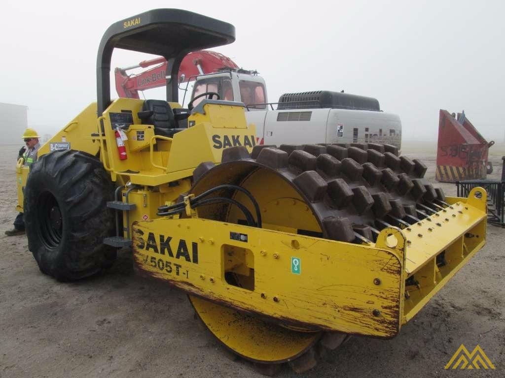Sakai SV505T-I Padfoot Roller for Sale 0