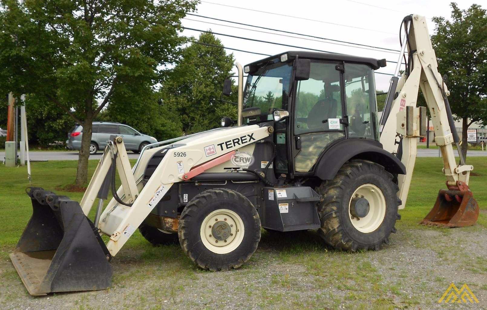 Terex TX760B Backhoe Loader 0