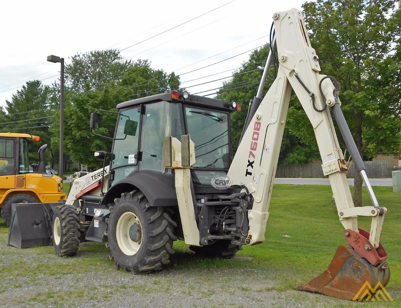 Terex TX760B Backhoe Loader 2