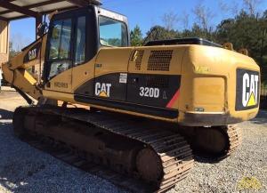 2008 CAT 320DL