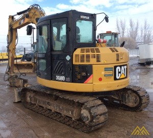 2010 CATERPILLAR 308D CR