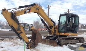 2010 CATERPILLAR 308D CR Mini Excavator