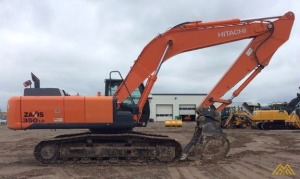 2013 HITACHI ZX350LC-5 SUPER LONG FRONT