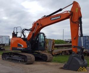 56,000 lb. Doosan DX235LCR-5 Hydraulic Excavator