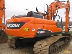 57,000 lb. Doosan DX255LC-5 Hydraulic Excavator