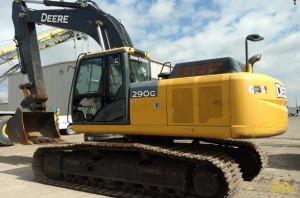 60,000 lb. Deere 290G-LC Hydraulic Excavator