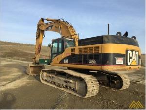 CAT 345C L Crawler Excavator