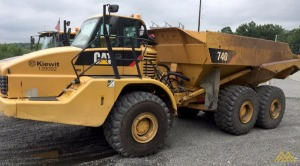 Caterpillar 740 Articulating Dump Truck
