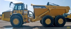 Deere 410E Articulating Dump Truck in Idaho Falls.
