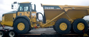 Deere 410E Articulating Loader