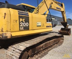 Komatsu PC200 LC-7 Crawler Excavator