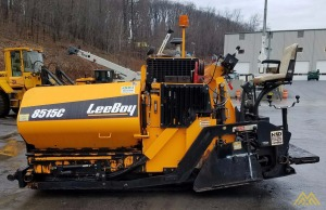 LeeBoy 8515C Screed Finisher