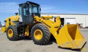 Low Hours!! KCM 70Z7 Wheel Loader for Sale