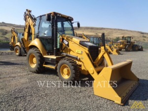 Low Hours on CAT 420F ST Backhoe Loader