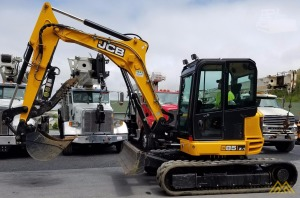 Low Hrs on JCB 85Z-1 Midi Excavator