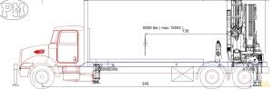 PM 47525 SP 52-Ton Knuckle Boom Crane on MAC