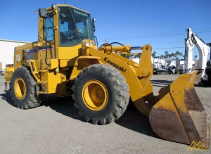 Nice 2013 Kawasaki 65ZV-2 Wheel Loader for Sale