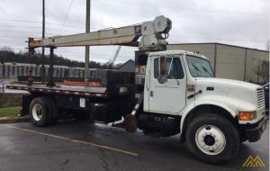 RO Stinger-1995 International TC80-45 8-Ton Boom Truck;CranesList ID: 258