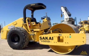 Sakai SV505D-1 Roller in Texas