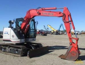 Used 2013 Link-Belt Excavators (LBX) 75 Spin-Ace® Interim Tier 4