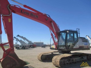 Used 2015 Link-Belt Excavators (LBX) 250 X4