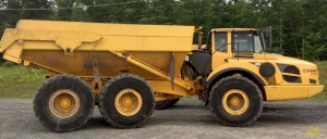 Volvo A40F Articulating Hauler in Pennsylvania