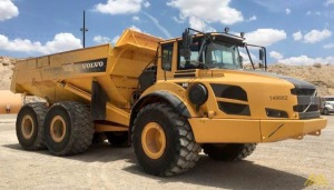 Volvo A40F Articulating Hauler in Texas