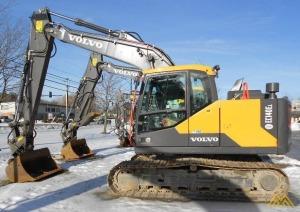 Volvo EC140EL Crawler Excavator