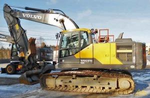 Volvo EC220EL Crawler Excavator