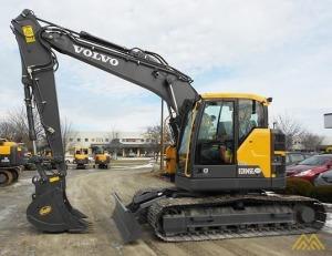 Volvo ECR145EL Compact Excavator