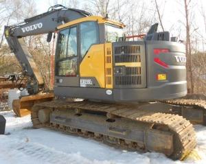 Volvo ECR235EL Compact Excavator