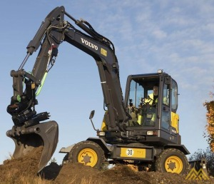 Volvo EW60E Compact Excavator