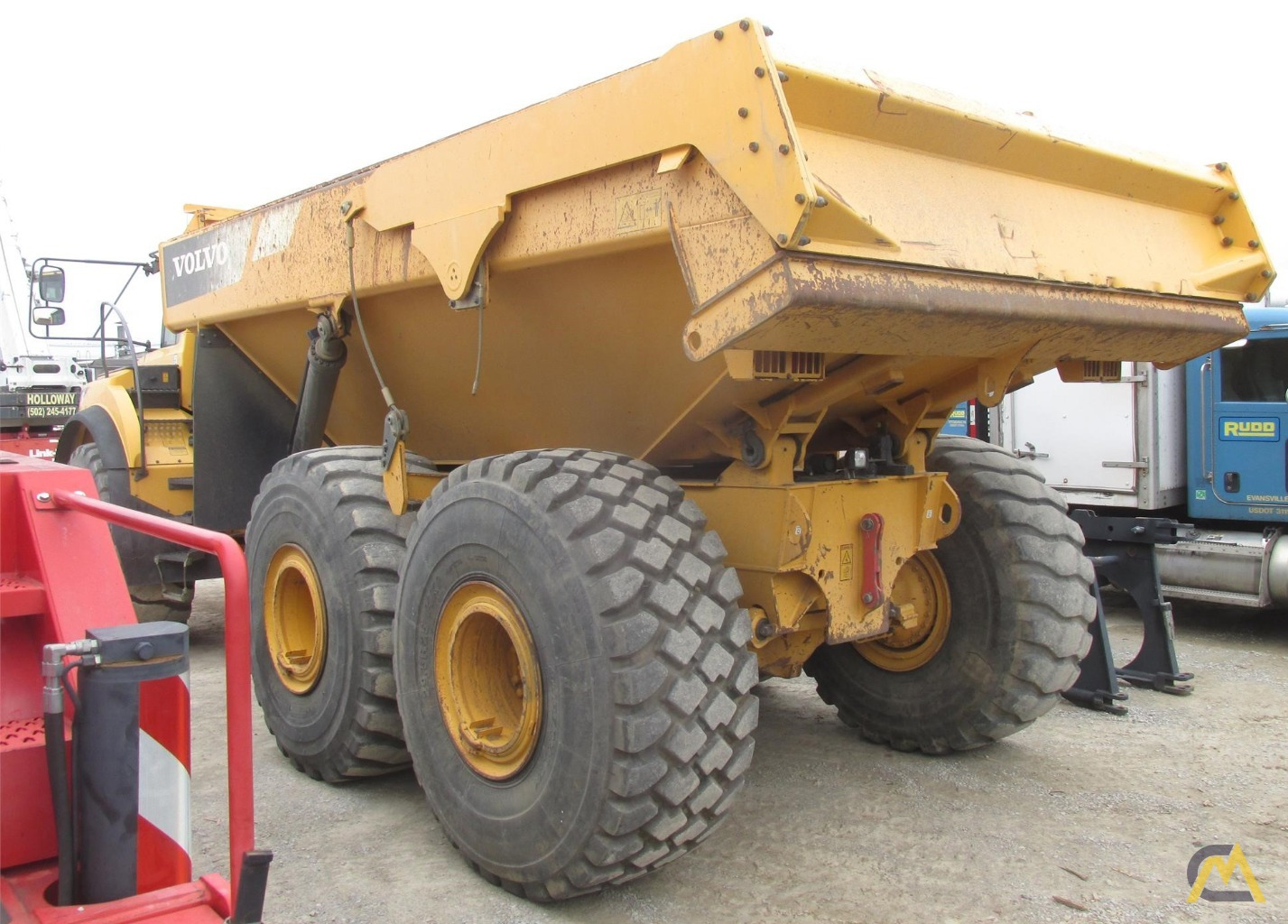 Volvo A40F Articulating Off Highway Dump Truck 3