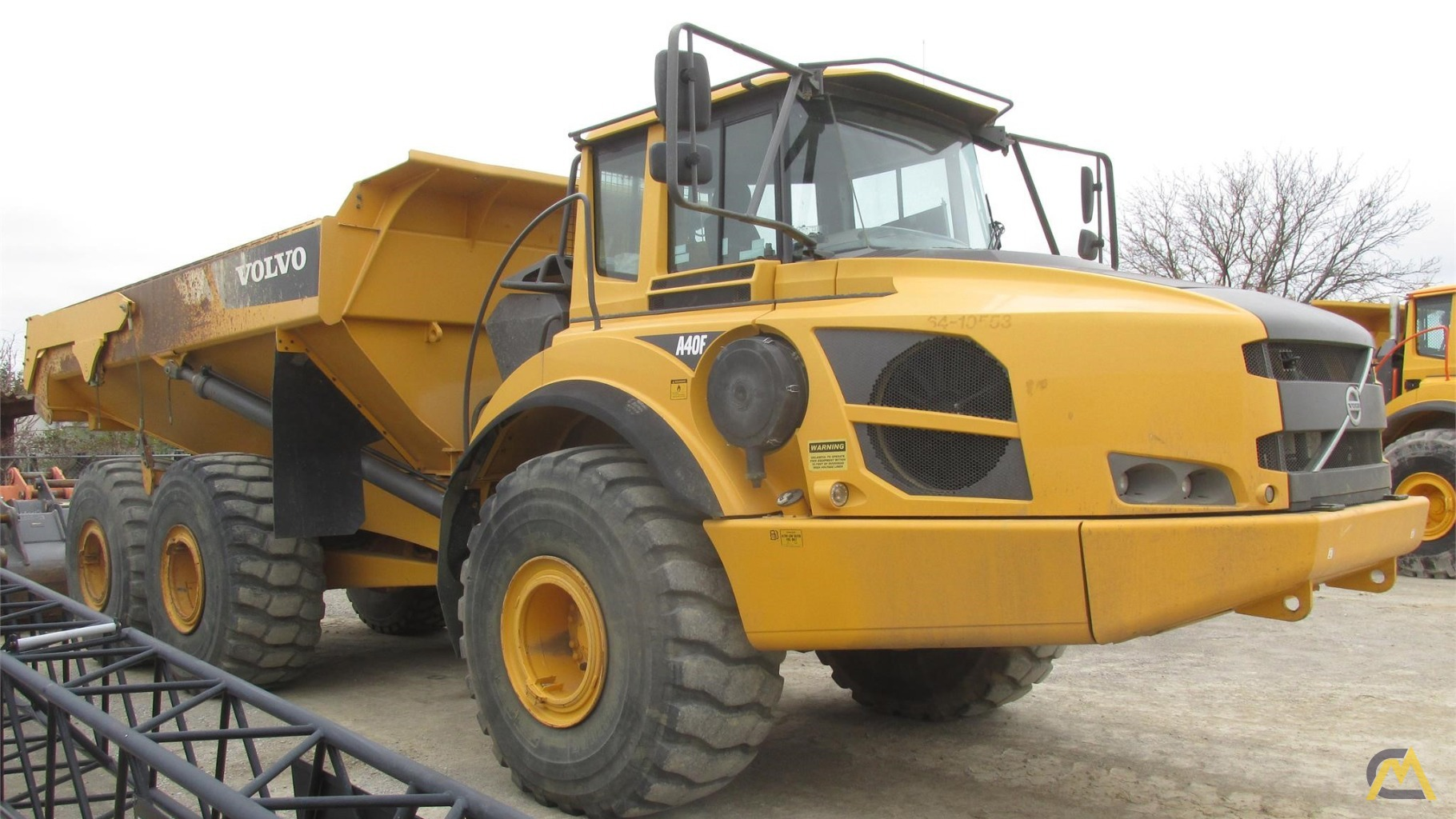 Volvo A40F Articulating Off Highway Dump Truck 0