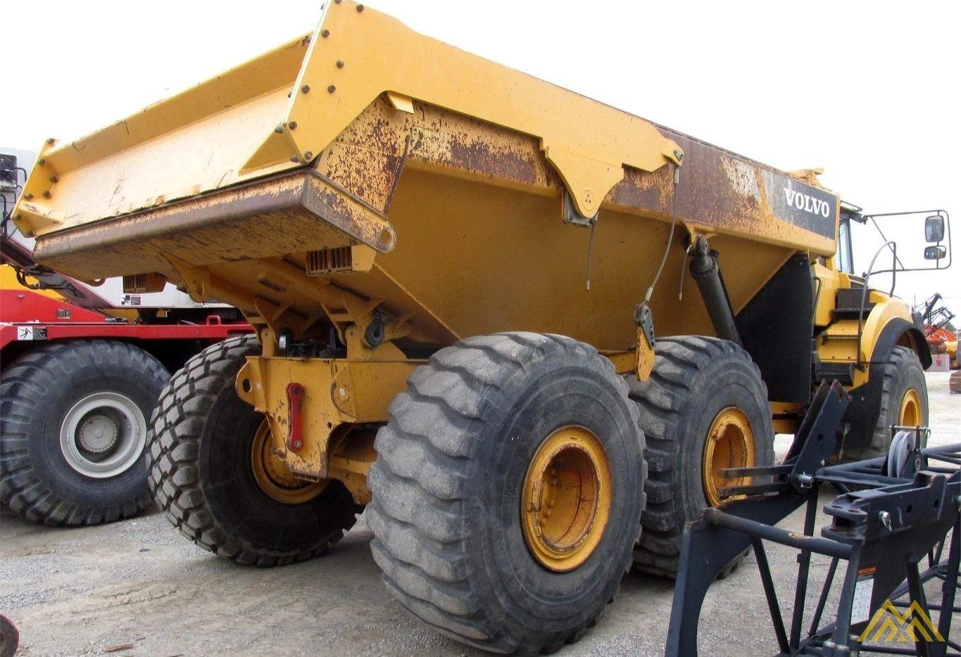 Volvo A40F Articulating Off Highway Dump Truck 4