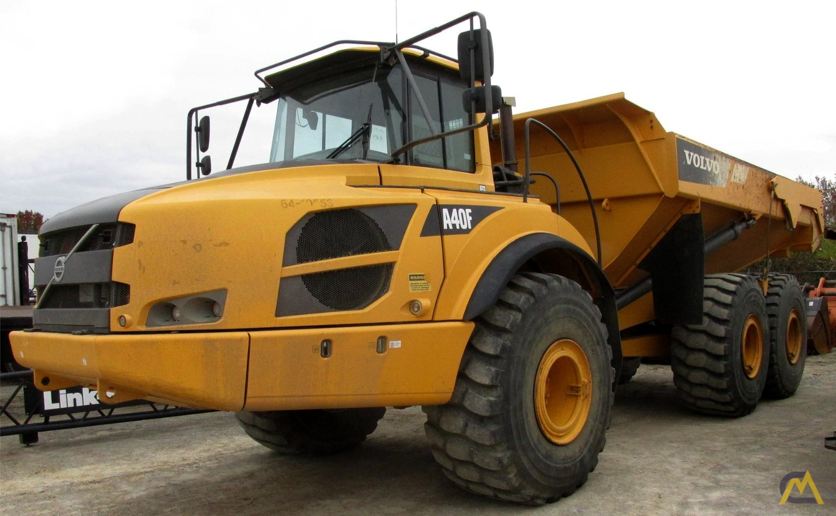 Volvo A40F Articulating Off Highway Dump Truck 1